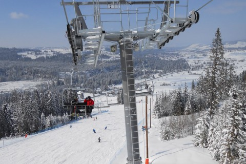 Wyciąg narciarski w Jurgowie